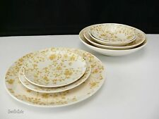 Sheffield Golden Meadow 7Pc Place Setting 3 Sizes of Plates & 4 Types of Bowls