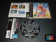 JUEGO NEO GEO CD TOP HUNTER - RODDY & CATHY   SNK NEO GEO AES