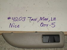 91 92 93 94 Explorer Arm Rest Armrest Door Pull New OEM Tan Left Rear Power