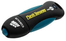 16GB Corsair Voyager USB3.0 Flash Drive - Black, Blue