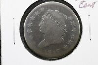 1812 Classic Head Large Cent, About Good