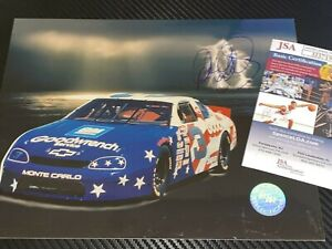 Dale Earnhardt RACING REFLECTIONS OLYMPICS 1996 CHEVY autographed 8x10 photo JSA