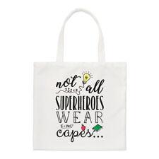 Teacher pas tout superhéros Vêtement CAPES PETIT SAC FOURRE-TOUT - Drôle épaule