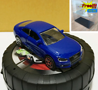 Majorette Audi A5 Coupe Blue Diecast 1/64 237C no Package Free Display Box
