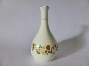"""Wedgwood """"Mirabelle"""" Vintage Floral Bud Vase, Bone China, Shabby Chic Decor"""