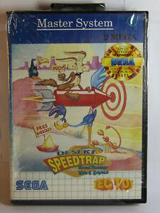 Sega Master System Desert Speedtrap Road Runner Tec Toy Brazil Brand New