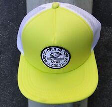 Vans Surfing US OPEN HB Trucker Mens Skate Co. Yellow/White Snapback Hat