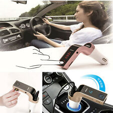 Bluetooth Car AUX Handsfree FM Transmitter Radio MP3 Player USB Charger HandFree