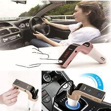 Bluetooth Car AUX Handsfree FM Transmitter Radio MP3 Player USB Charger HandFree