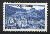 Andorra ( French Post ) : 1955 30 Francs Landscapes New ( MH )