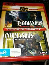 Commandos Double Impact - PC GAME - FAST POST