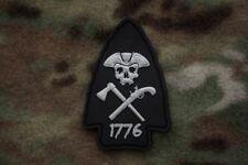 Arrowhead 3D PVC Morale Patch Moeguns 1776 Patriot Flintlock Hatchet