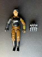 Vintage 1983 GI JOE Major Bludd Hasbro Action figure (V1) w/ Backpack