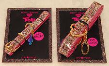 Betsey Johnson - Troll Designer  Glitter Bling Bling Pet COLLAR & LEASH Set *NEW