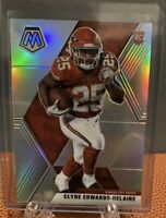 2020 PANINI MOSAIC Clyde Edwards-Helaire CHIEFS SILVER PRIZM Rookie Card RC #212