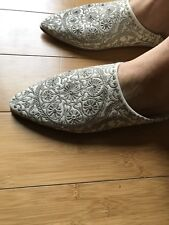 Moroccan Ladies Slippers.100% Leather.