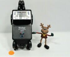 Vtg Vivitar Auto Thyristor 2800 Universal Flash fits Nikon Pentax Canon Cameras