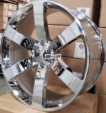 24 TBSS Rims Chrome Rims Fit Chevy Tahoe Trailblazer Silverado GMC Sierra Yukon