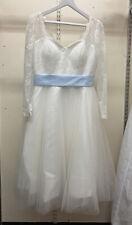 DIYFashion Wedding Dress in Size Approx 12 Vintage-style (001)