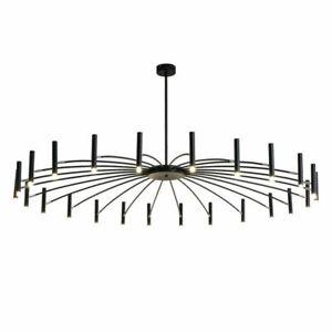 Modern Black Branch Chandelier Metal Pendant Light Nordic Ceiling Lamp Fixture