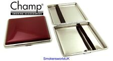 Cigarette Case -- Champ Shiny Red 20 King Size -- NEW chks13