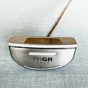 PRGR Silver Blade 03CS Putter. 34 inch - Average Condition, Free Post # 9352