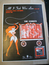 The Uniques 1968 Ad- All I Took Was Love /Paula