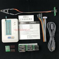 USB BIOS Universal SP8-A Programmer Full Pack FLASH/EEPROM/SPI with test clip