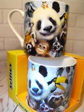 WILDLIFE MUG GIFT FUNNY ZOO ANIMAL  GIFT GIANT PANDA TOUCAN MEERKAT CHINA MUG