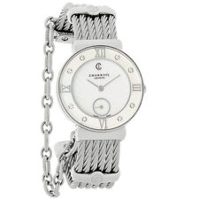 Philippe Charriol St. Tropez Ladies Diamond MOP Cuff Dress Watch ST30SD.560.008
