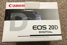 Canon EOS 20D Digital Camera Body Only In Box With Manual Disc Mint Works