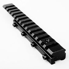 11mm Dovetail Extension to 20mm Weaver Picatinny Adapter Base Riser Rail Mount