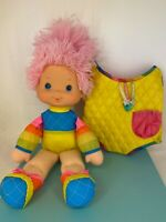 Vintage Rainbow Brite - 1983 - Baby Brite with Baby Carrier