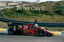 RENE ARNOUX FERRARI 126C3 WINNER DUTCH GRAND PRIX 1983 fotografia 1