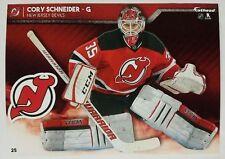"Cory Schneider 2017 NHL Fathead Tradeable 5"" x 7"" New Jersey Devils - #25"
