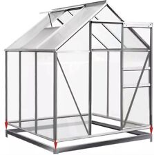 ⭐️ Greenhouse Base Steel Foundation 190x190cm Growhouse Frame Metal Garden Shed