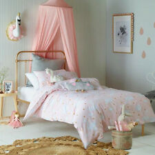 Kids Single Doona Quilt Cover with Pillow Case - Swan Princess