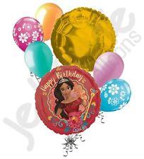 7 pc Disney Elena of Avalor Happy Birthday Balloon Bouquet Party Decoration