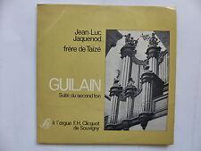 jean luc jacquenod frere de taize Guilain Suite de second ton Orgue SM 17 M 417