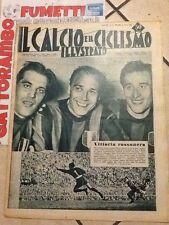 Il Calcio E Il Ciclismo Illustrato N.15 Anno 1952 Vittoria Rossonera