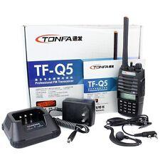 NEW Walkie Talkie TONFA TF-Q5 VHF/UHF 136-174+400-480MHz 256CH 10W Two Way Radio
