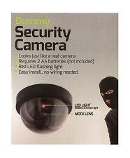 New Dummy Home SECURITY LED DOME CAMERA Flashing Light Fake Surveillance CCTV
