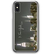 New York City Schriftzug Skyline iPhone XS Hardcase Hülle Schön USA Cover Case