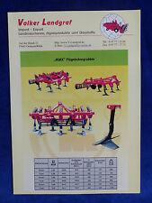 Volker Landgraf - Ajax Flügelschargrubber Pegaz - Prospekt Brochure  (0834