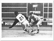 New York Yankees- Tony Kubek & Roberto Clemente -1960 World Series -Forbes Field