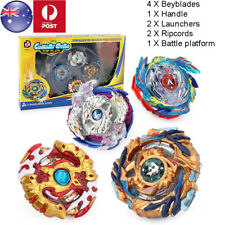 4Pcs/Set Beyblade Burst Stadium Arena With Launcher Battle Platform Kids Toy AU