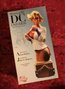 Supergirl / Women of the DC Universe Ser 1 BUST STATUE / DC Direct, Adam Hughes