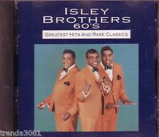 ISLEY BROTHERS 60s Greatest Hits Rare Classics CD Greatest 60s R&B ANTHOLOGY