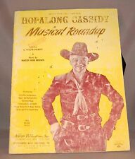 Original Hopalong Cassidy Western Musical Roundup Official Folio! 1951