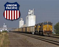 Union Pacific Railroad Train Sturdy Metal Sign Logo Photo